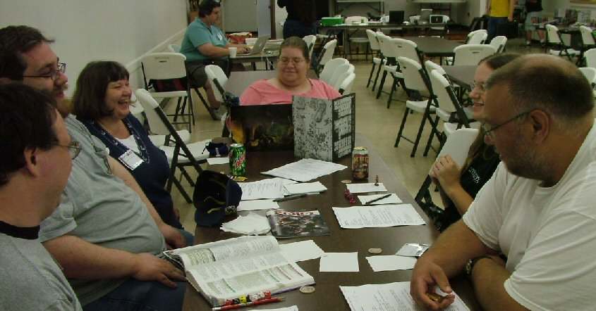 Jasmine running D&D 4th edition!